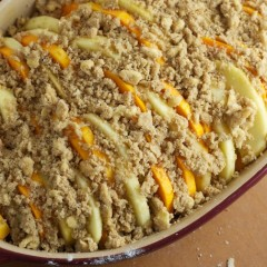 Appalachian Whole-Grain Apple Bake